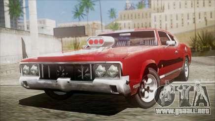 Sabre Turbocharged para GTA San Andreas
