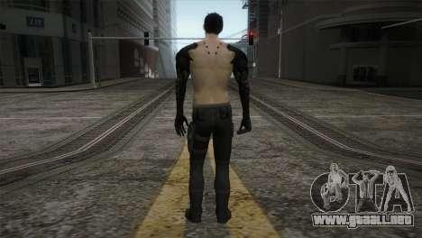 Adam Jensen para GTA San Andreas tercera pantalla