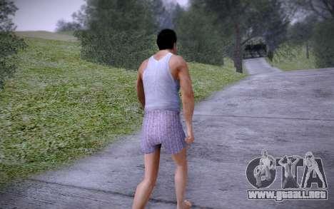 Joe Home para GTA San Andreas sucesivamente de pantalla