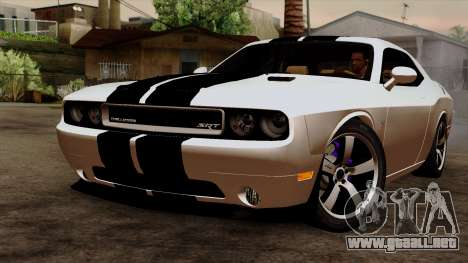 Dodge Challenger SRT8 392 2012 Stock Version 1.0 para GTA San Andreas