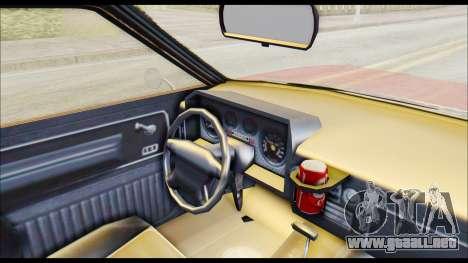 GTA 5 Cheval Picador para la visión correcta GTA San Andreas