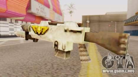 Warhammer M4 para GTA San Andreas segunda pantalla