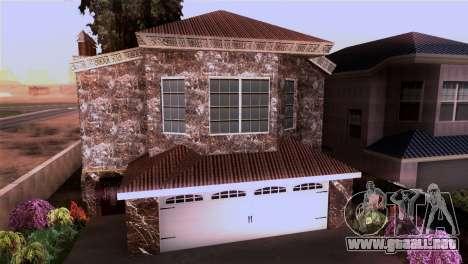 La mansión en el estilo de Scarface para GTA San Andreas