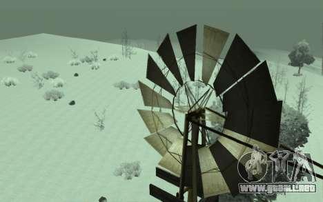 Invierno Timecyc para GTA San Andreas