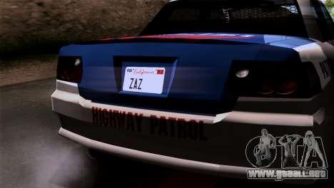 Indonesian Police Type 2 para visión interna GTA San Andreas