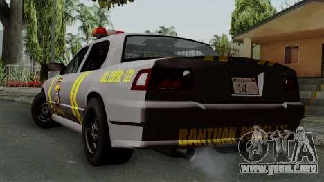 Indonesian Police Type 1 para GTA San Andreas left