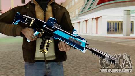 Fulmicotone M4 para GTA San Andreas tercera pantalla