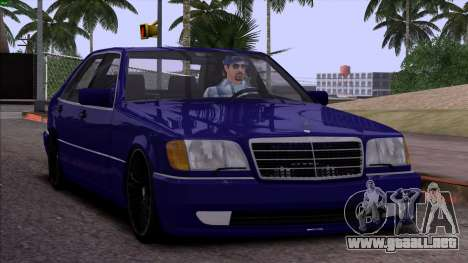 Mercedes-Benz S600 W140 para GTA San Andreas