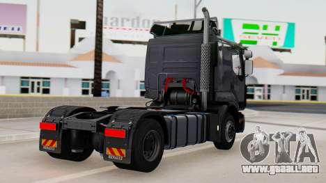 Renault Premuim 4x2 para GTA San Andreas left