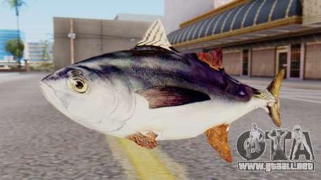 Tuna Fish Weapon para GTA San Andreas