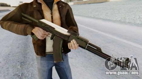 Arsenal AKM para GTA San Andreas tercera pantalla