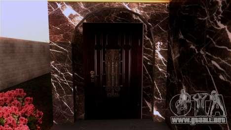 La mansión en el estilo de Scarface para GTA San Andreas segunda pantalla