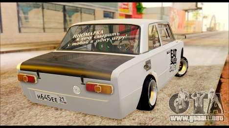 VAZ 21013 Deporte para GTA San Andreas vista posterior izquierda