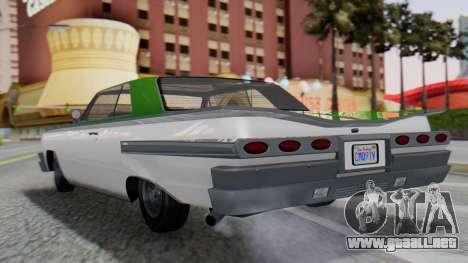 GTA 5 Declasse Voodoo para GTA San Andreas left