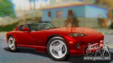 Dodge Viper RT-10 1992 para GTA San Andreas