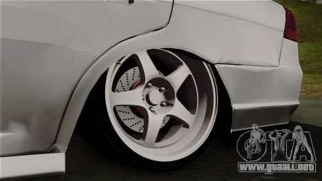 Honda Civic para GTA San Andreas vista posterior izquierda