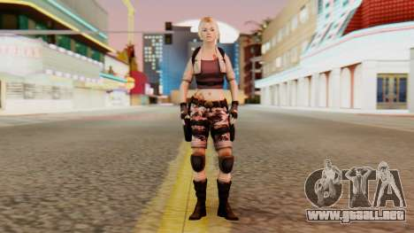 Wild Child from Resident Evil Racoon City para GTA San Andreas segunda pantalla