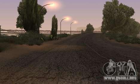 Las luces de San Fierro, Las Venturas para GTA San Andreas octavo de pantalla