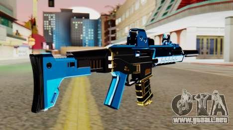 Fulmicotone M4 para GTA San Andreas segunda pantalla