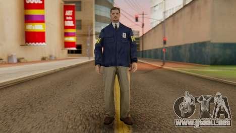 FBI Skin para GTA San Andreas segunda pantalla