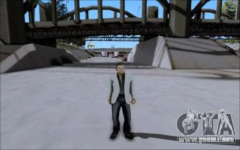 La Cosa Nostra Skin Pack para GTA San Andreas quinta pantalla