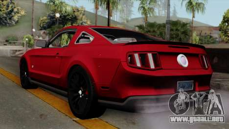 Ford Mustang GT 2010 para GTA San Andreas left