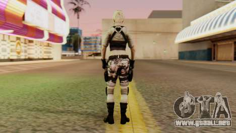 Wild Child from Resident Evil Racoon City para GTA San Andreas tercera pantalla