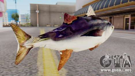 Tuna Fish Weapon para GTA San Andreas segunda pantalla