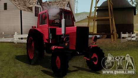 Tractor MTZ80 para GTA San Andreas