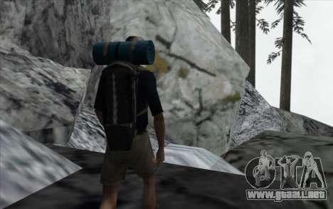 La cascada de v0.1 Beta para GTA San Andreas quinta pantalla
