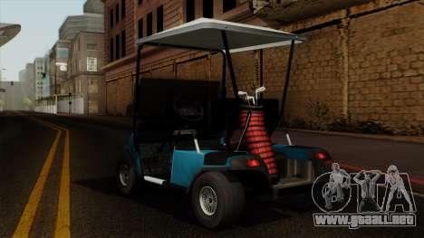 E-Z-GO Golf Cart v1.1 para GTA San Andreas left