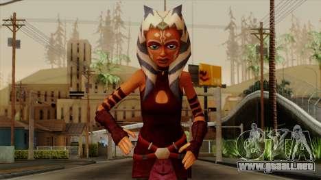 Ahsoka Tano Star Wars para GTA San Andreas