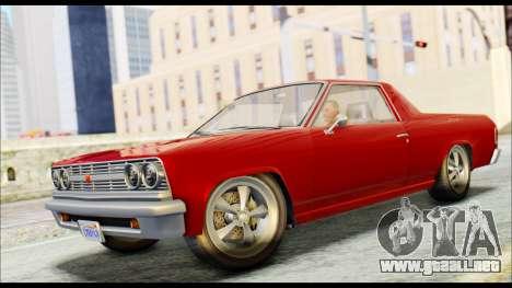 GTA 5 Cheval Picador para GTA San Andreas