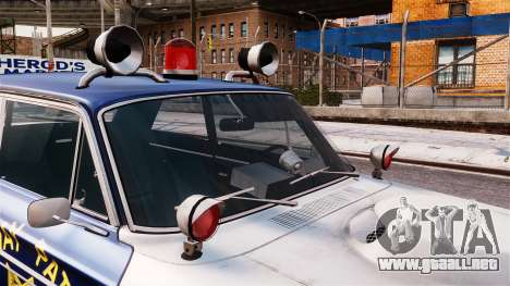 Ford Fairlane 1964 Police para GTA 4 visión correcta