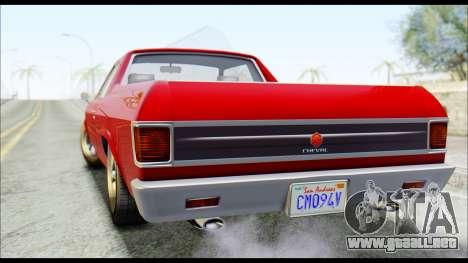 GTA 5 Cheval Picador para GTA San Andreas left