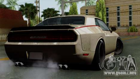 Dodge Challenger GT S para GTA San Andreas left