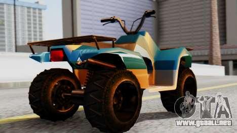 New Quad para GTA San Andreas left
