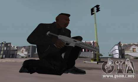 Combat PDW from GTA 5 para GTA San Andreas tercera pantalla