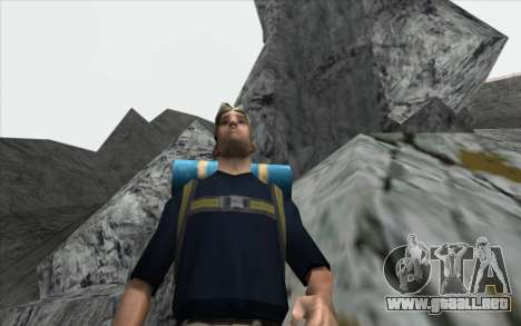 La cascada de v0.1 Beta para GTA San Andreas séptima pantalla