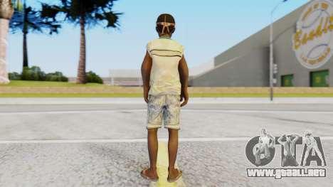 African Child para GTA San Andreas tercera pantalla