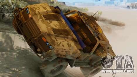 SOC-T from CoD Black Ops 2 para GTA San Andreas