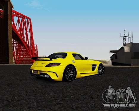 ENB for Low PC para GTA San Andreas quinta pantalla