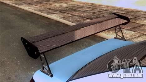 GTA 5 Declasse Asea IVF para GTA San Andreas vista hacia atrás