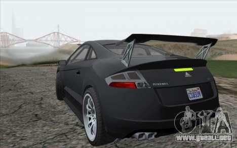 ENBSeries For Low PC v5.0 para GTA San Andreas segunda pantalla