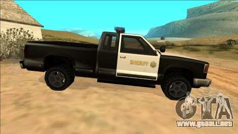 New Yosemite Police v2 para visión interna GTA San Andreas
