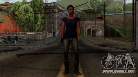 Rochelle New Textures para GTA San Andreas segunda pantalla