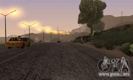Las luces de San Fierro, Las Venturas para GTA San Andreas novena de pantalla