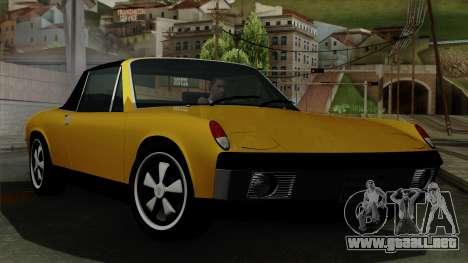 Porsche 914 1970 para GTA San Andreas