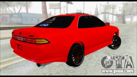 Toyota Mark 2 90 Stock2 para GTA San Andreas left
