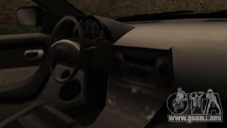 Indonesian Police Type 2 para la visión correcta GTA San Andreas